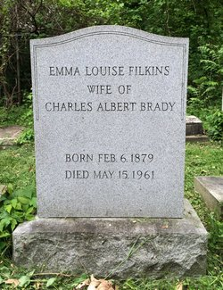 Emma Louise <I>Filkins</I> Brady
