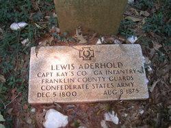 Lewis Aderhold
