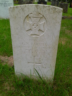 Private George Norman Barrier