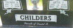 Artie F. <I>Dieken</I> Childers