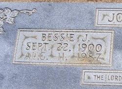 Bessie Jane <I>Johnson</I> Johnson