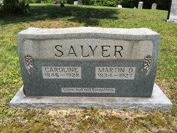 Martin D Salyer