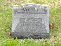 Anna <I>Hazuga</I> Ivan