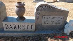 Eula Beatrice <I>Dodson</I> Barrett