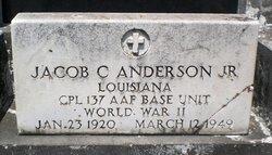 Jacob C Anderson, Jr