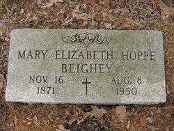 "Elizabeth Mary ""Lizzy"" <I>Hoppe</I> Beighey"