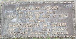 Marguerite M Jones