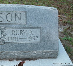 Ruby Emma <I>Keene</I> Ericson