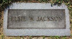 Elsie L <I>Williams</I> Jackson