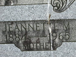 Jeannette M Blue