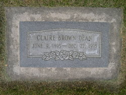 Claire Mildred Dean