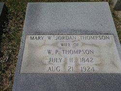 Mary Watson <I>Jordan</I> Thompson