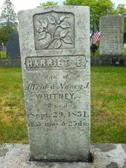 Harriet E Whitney