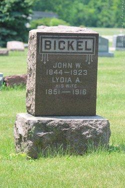 Lydia Ann <I>Shuman</I> Bickel