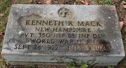 PVT Kenneth Reginald Mack