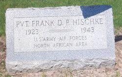 """PVT Frank D P """"Sonny"""" Hischke"""