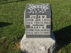 Mary Ann <I>Curtis</I> Blades