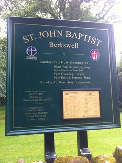 St John Baptist Churchyard