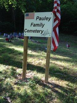 Pauley Family Cemetery