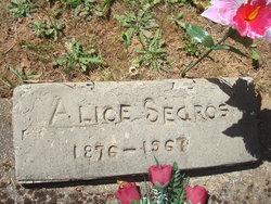 Alice <I>Swearingen</I> Sedros