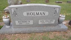 Sgt Richard H Holman