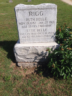 Ruth Belle Rigg