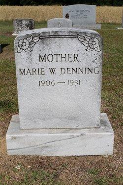 Marie W. Denning