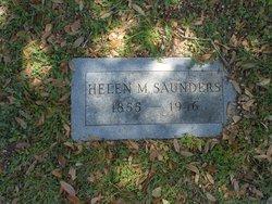 Helen M Saunders