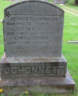 Edwin S Johonnett