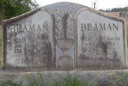 Ophelia Jane <I>Herring</I> Beaman