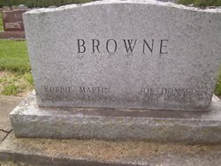 Bobbie Jean <I>Martin</I> Browne