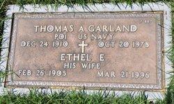 Ethel E Garland
