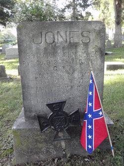 Pvt Benjamin John Jones