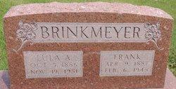 Lula A. <I>Johnson</I> Brinkmeyer