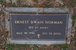 "Ernest Dwain ""Ernie"" Norman"