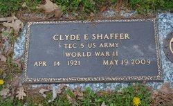 Clyde E Shaffer