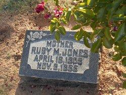 Ruby M. <I>Anderson</I> Jones