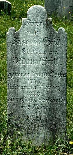 Susanna <I>Riehm</I> Grill