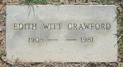Edith Lorene <I>Witt</I> Crawford