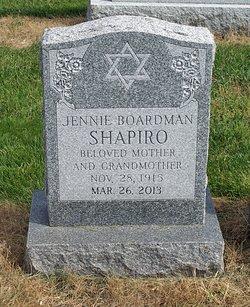 Jennie <I>Levenson</I> Boardman Shapiro