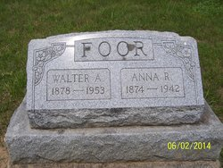 Anna Rebecca <I>Fickes</I> Foor