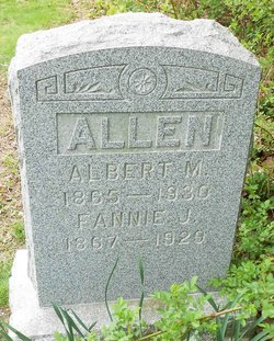 Fannie J <I>Reed</I> Allen