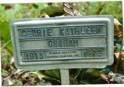 Carrie Kathleen <I>Bennett</I> Graham