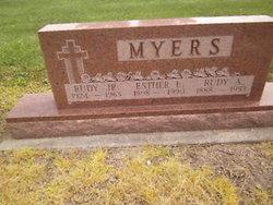 Esther Louise <I>Smith</I> Myers