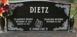 """Clarence Henry """"Clancy"""" Dietz"""
