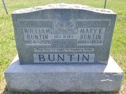 Mary Elizabeth <I>Butt</I> Buntin