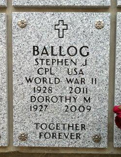Stephen John Ballog