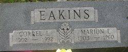 Marion L Eakins