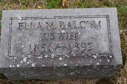 Ella Maloria <I>Balcom</I> Grant