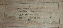 Lola Mae <I>Surface</I> Alexander
